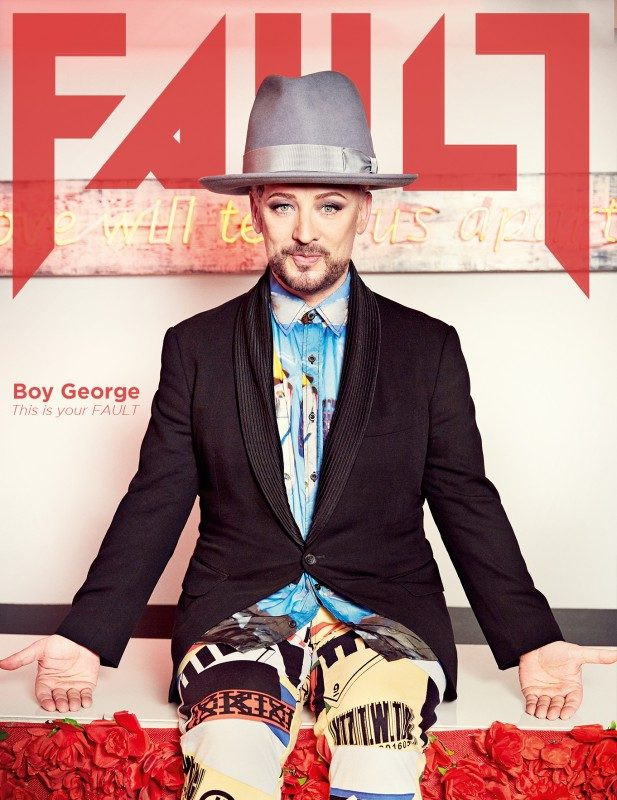 FAULT Magazine Issue 23: Boy George Cover - £15.00
