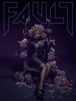 FAULT Magazine Issue 22 (Reverse covers Fleur East/ Jamie Campbell Bower ) - £15.00