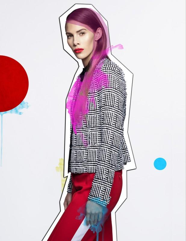 Jacket: Proenza Schouler Trousers: Michael Kors