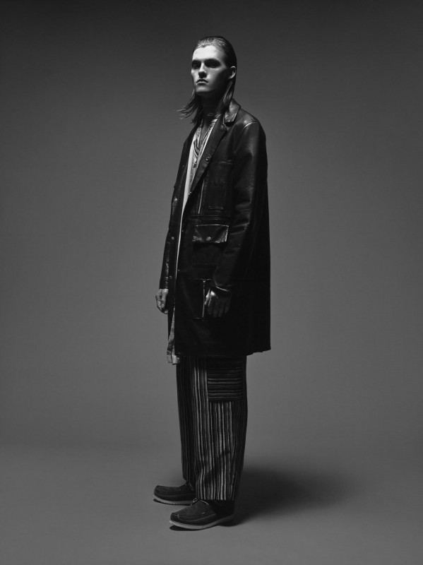 Trouser and leather jacket: Agi and Sam Shoes: Grenson