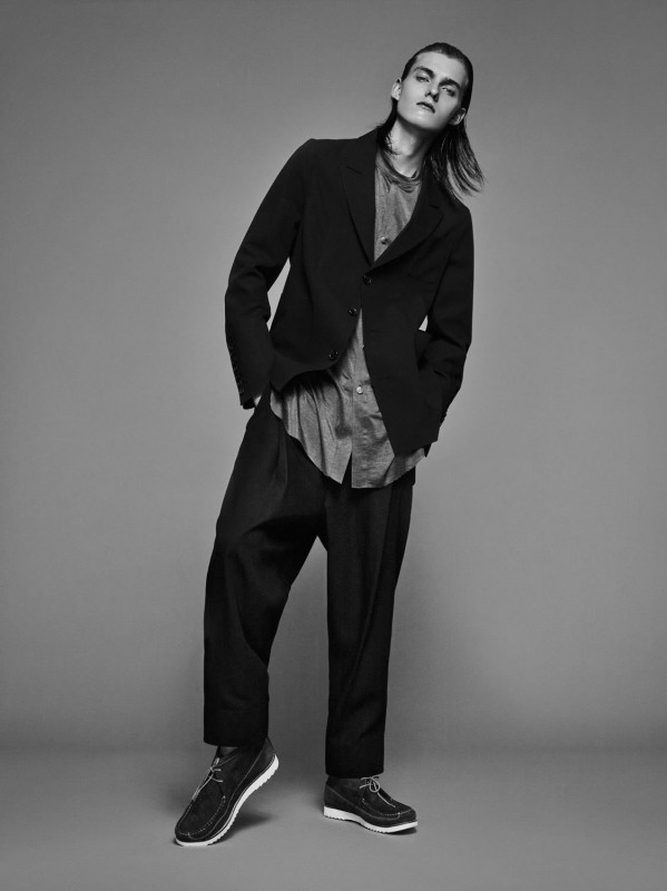 Jacket: Siki Im Trouser & Top: Hardy Amies Shoes: Grenson