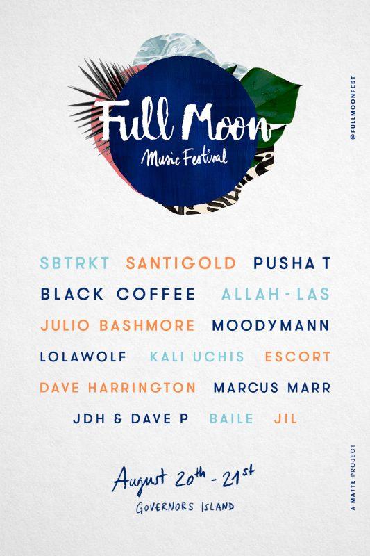 Full Moon 16 - Flyer