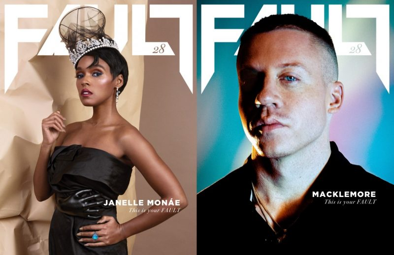 FAULT Magazine Issue 28 - Janelle Monáe and Macklemore