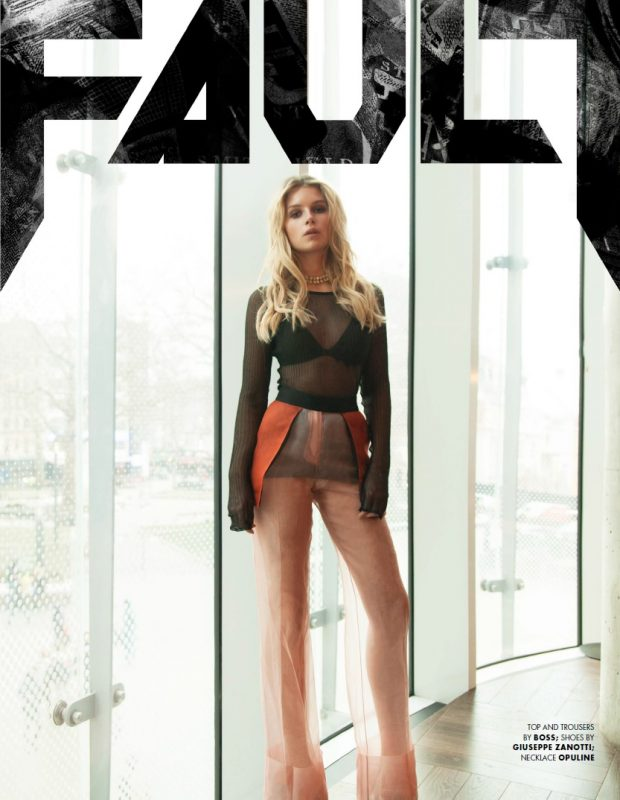 Lottie Moss FAULT Magazine Issue 28 Style cover