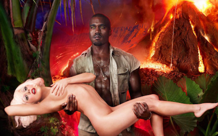 David LaChapelle The Rape of Africa